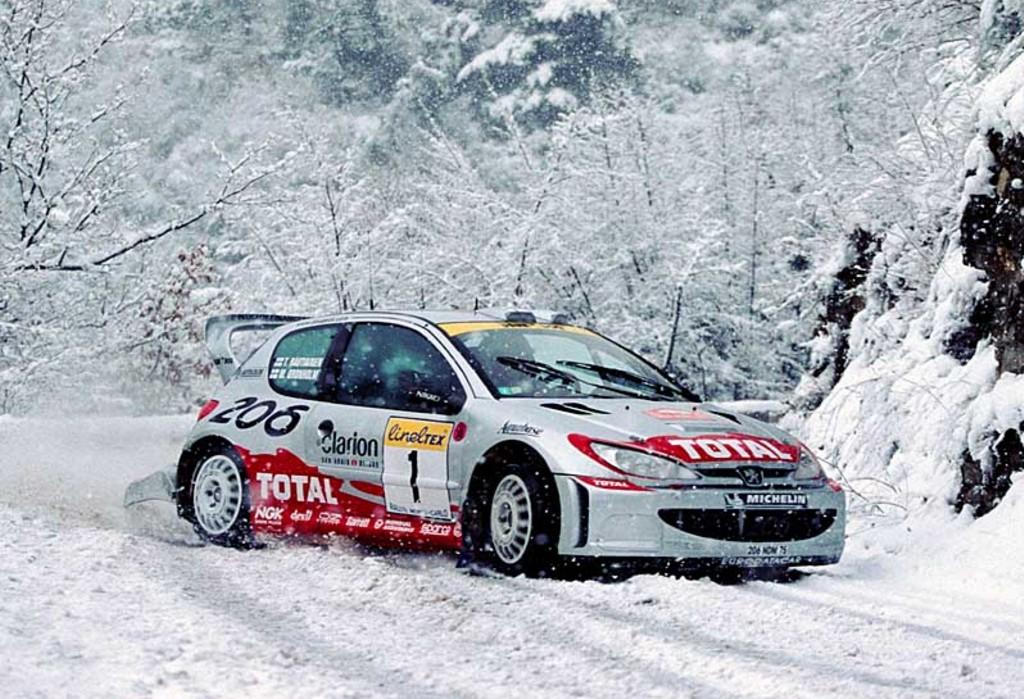 2001 Peugeot 206 Wrc Image