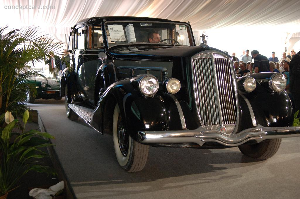 1937 Pierce Arrow Model 1702 Image