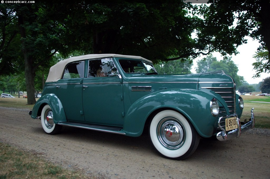 1939 Plymouth P8 Deluxe Line At The Meadow Brook Concours