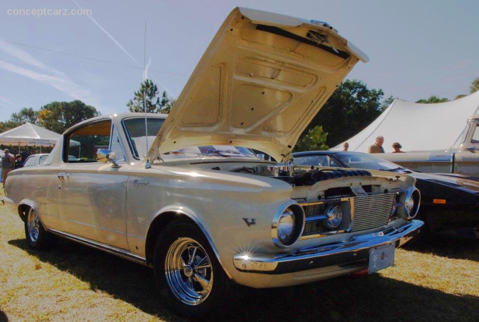 1965 Plymouth Barracuda Conceptcarz Com