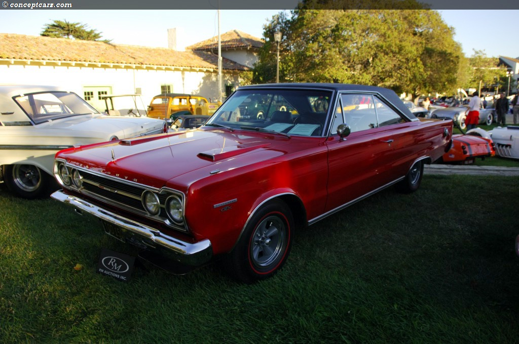 Auction Results And Data For 1967 Plymouth Belvedere Gtx