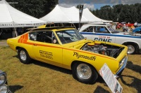 1968 Plymouth Barracuda Super Stock image.