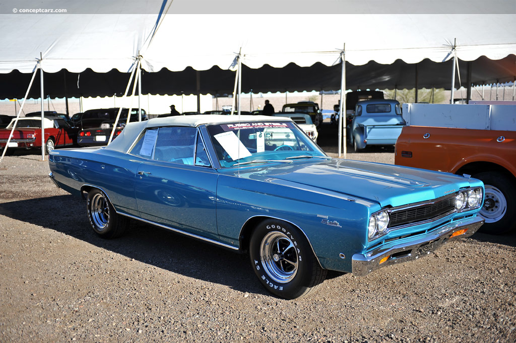 Auction Results And Data For 1968 Plymouth Satellite