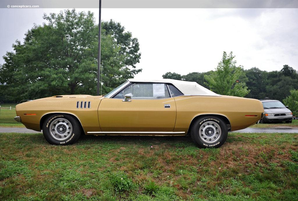 barracuda 1971 convertible - photo #45