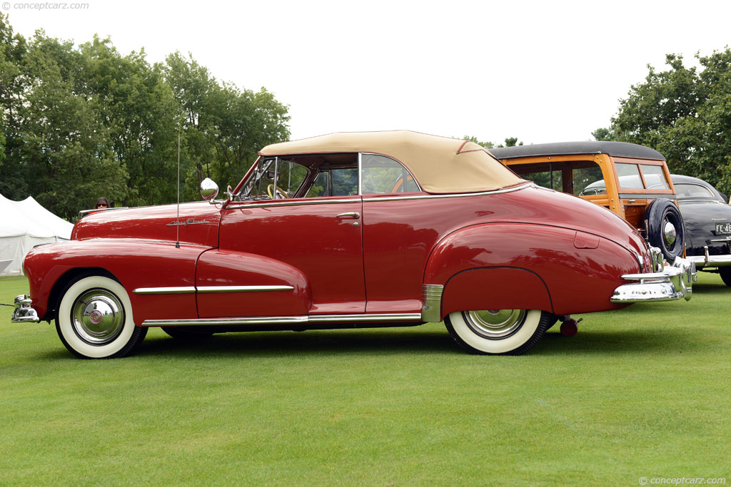 1948 Pontiac Silver Streak Image Chassis Number C8pa1338