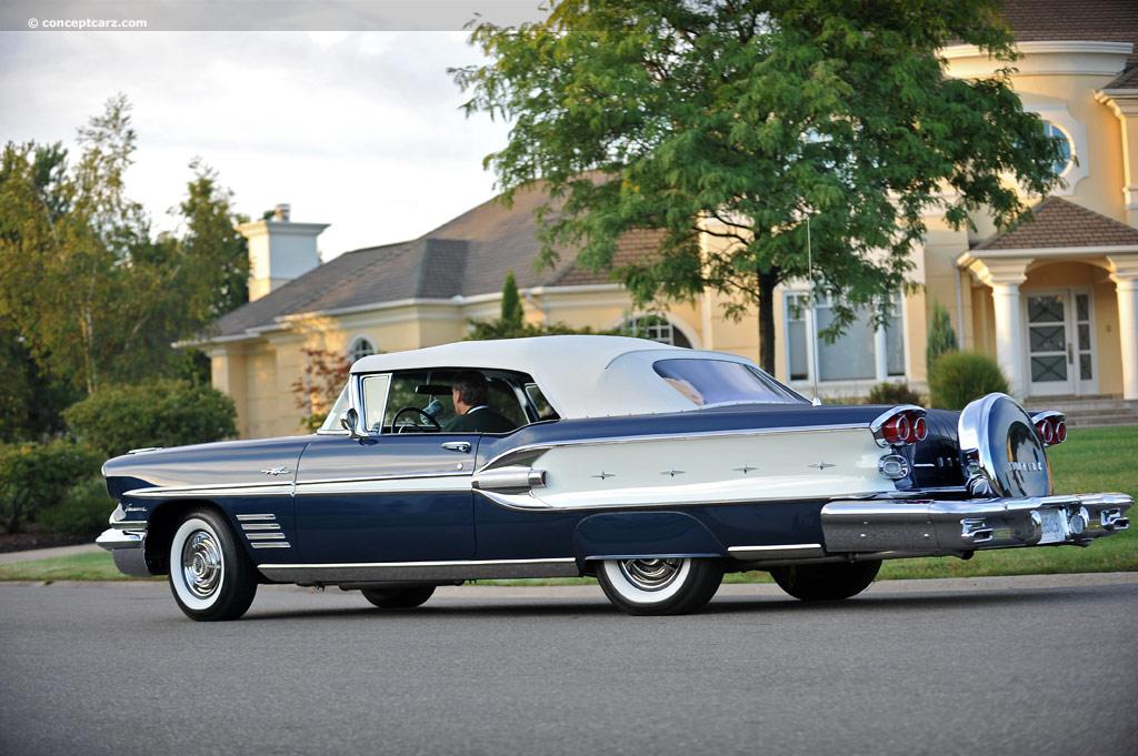 Auction Results And Data For 1958 Pontiac Parisienne Conceptcarz Com