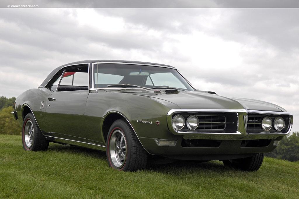 Auction results and data for 1968 Pontiac Firebird  conceptcarzcom