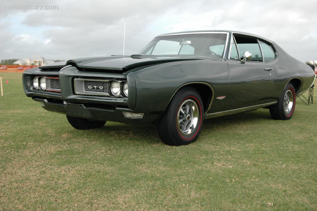 Auction results and data for 1968 Pontiac GTO  conceptcarzcom