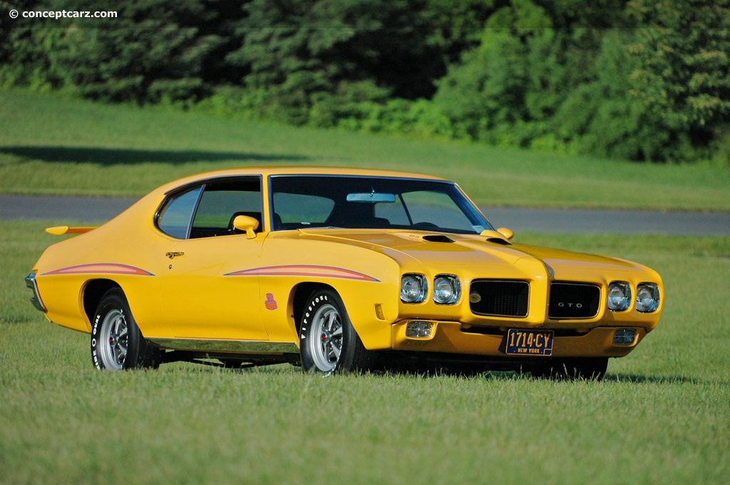 1970 Pontiac Gto Pictures History Value Research News