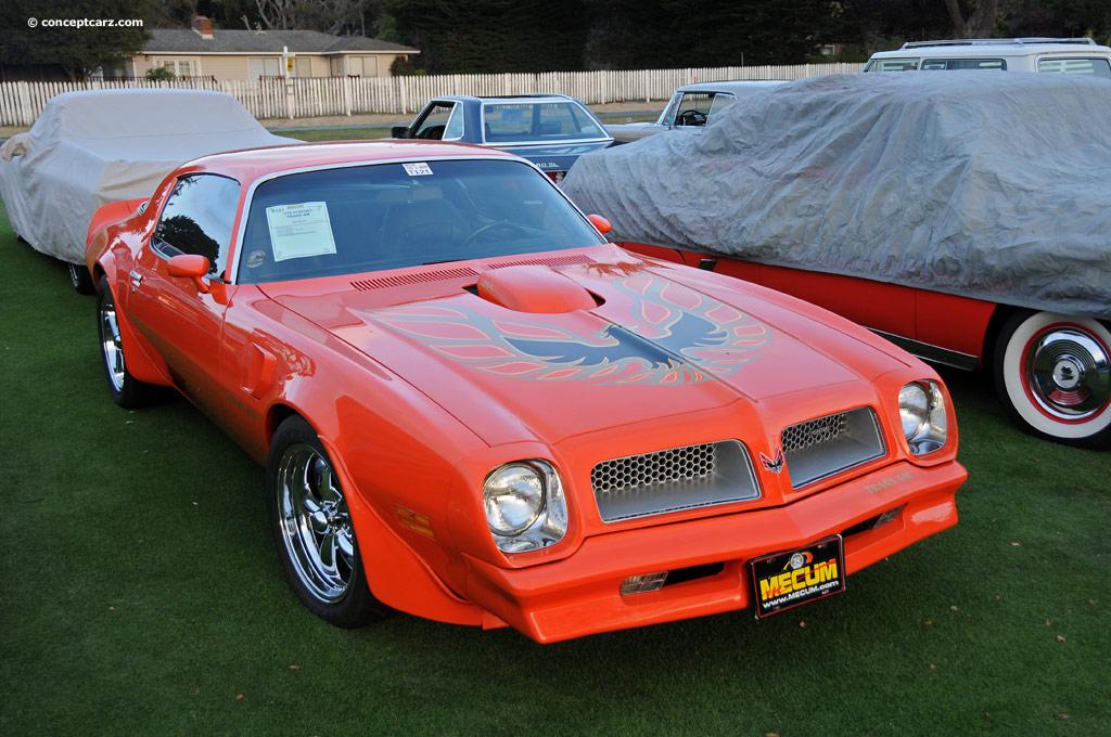 Auction results and data for 1976 Pontiac Firebird Trans Am - conceptcarz.com