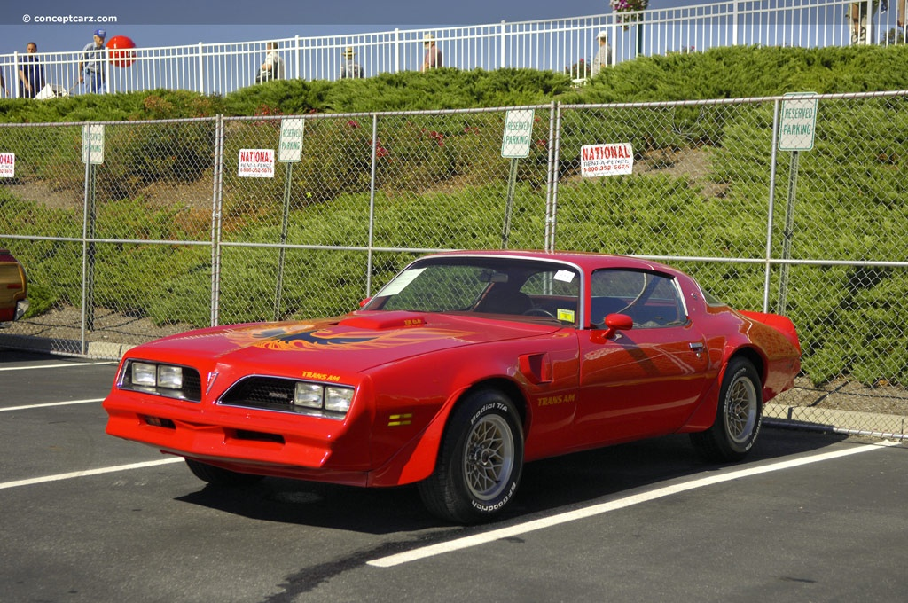 1977 Pontiac Firebird Trans Am Image Chassis Number