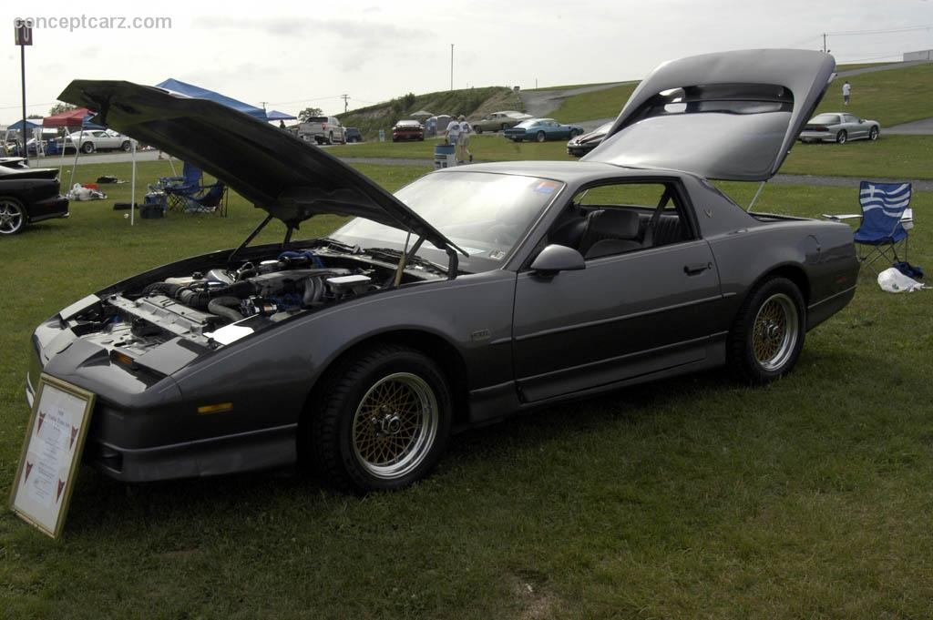 1988 Pontiac Firebird  Series 2f  Trans Am  Gta  Firebird Formula