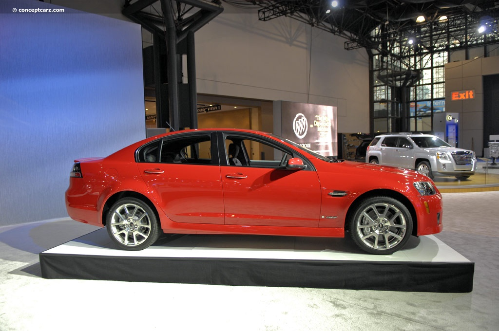 auction results and data for 2009 pontiac g8 gxp. Black Bedroom Furniture Sets. Home Design Ideas