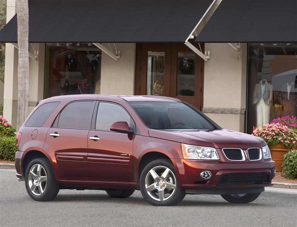 Pontiac torrent adds more standard features and bluetooth capability for 2009