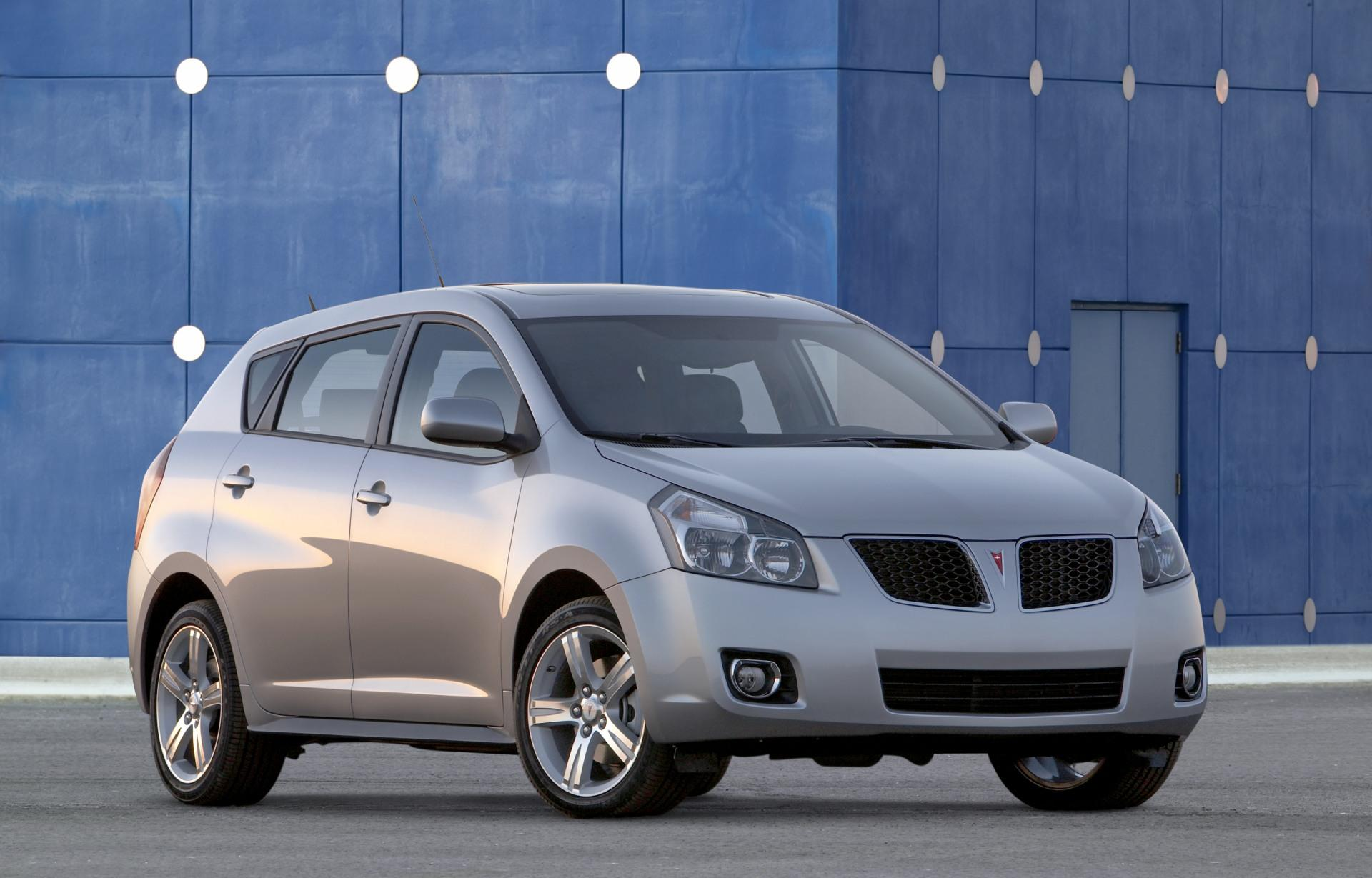2009 pontiac vibe technical specifications and data. Black Bedroom Furniture Sets. Home Design Ideas