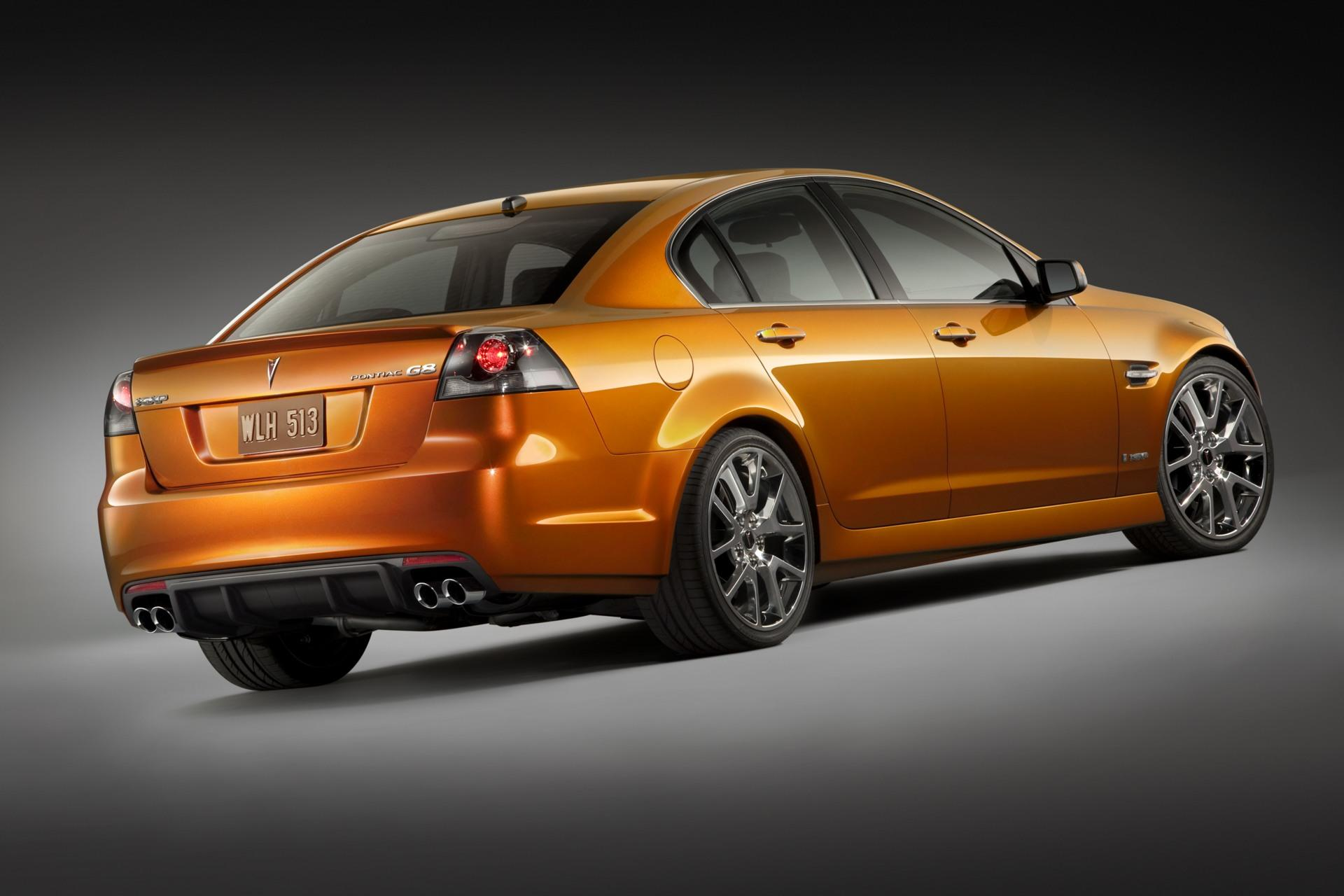 2009 Pontiac G8 Gxp Technical Specifications And Data