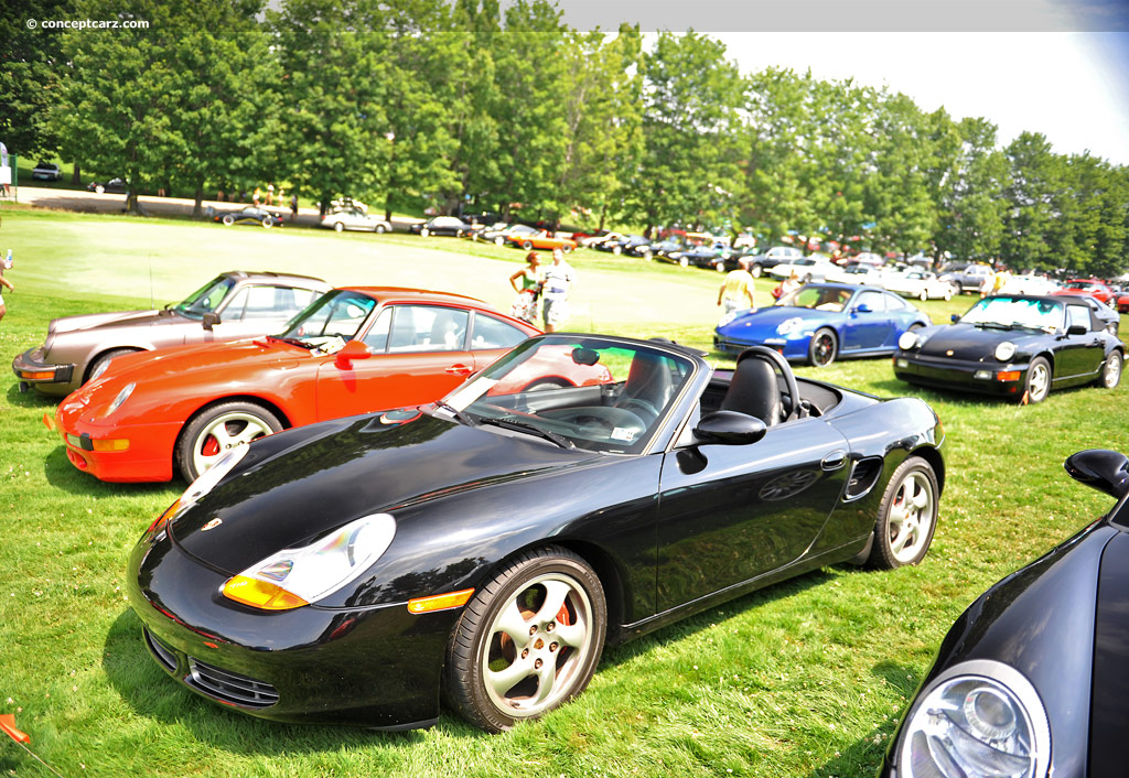 2001 porsche boxster at the pittsburgh vintage grand prix car show. Black Bedroom Furniture Sets. Home Design Ideas
