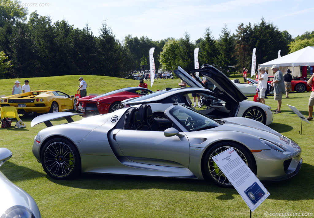 2015 porsche 918 spyder at the 37th annual concours d 39 elegance of america. Black Bedroom Furniture Sets. Home Design Ideas