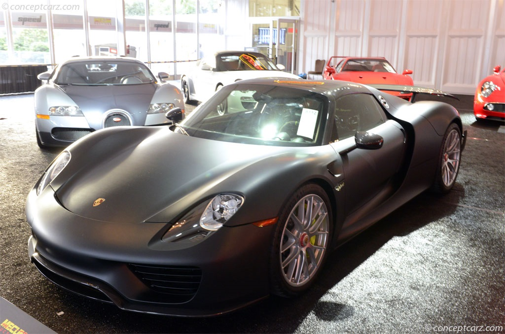 Auction results and data for 2015 porsche 918 spyder weissach chassis image sciox Images