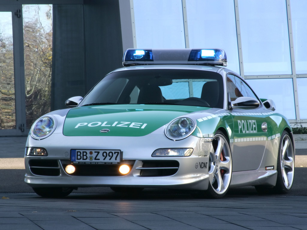 2005 TechArt 997 911 Carrera Polizei Image