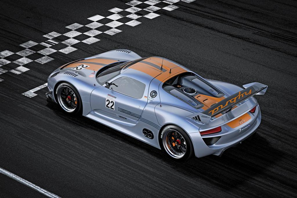 with the new porsche 918 rsr