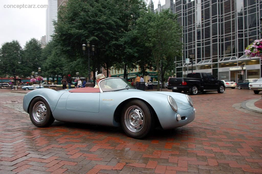 note the images shown are representations of the 1955 porsche 550 rs spyder replica
