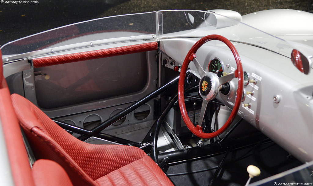 1959 Porsche 718 Rsk Image Chassis Number 718 023