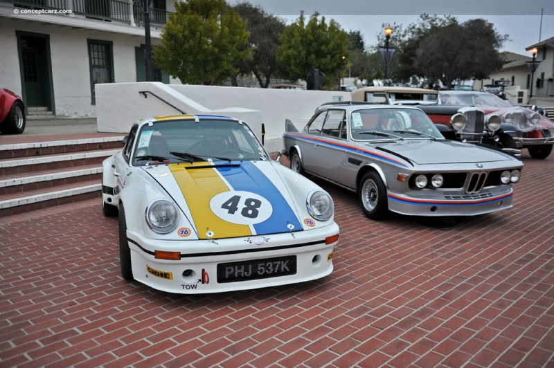 1972 Porsche 911 RSR at the RM Auctions at Monterey