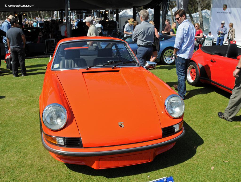 1973 Porsche 911 Rs Carrera Rs 2 7 M 472 Touring