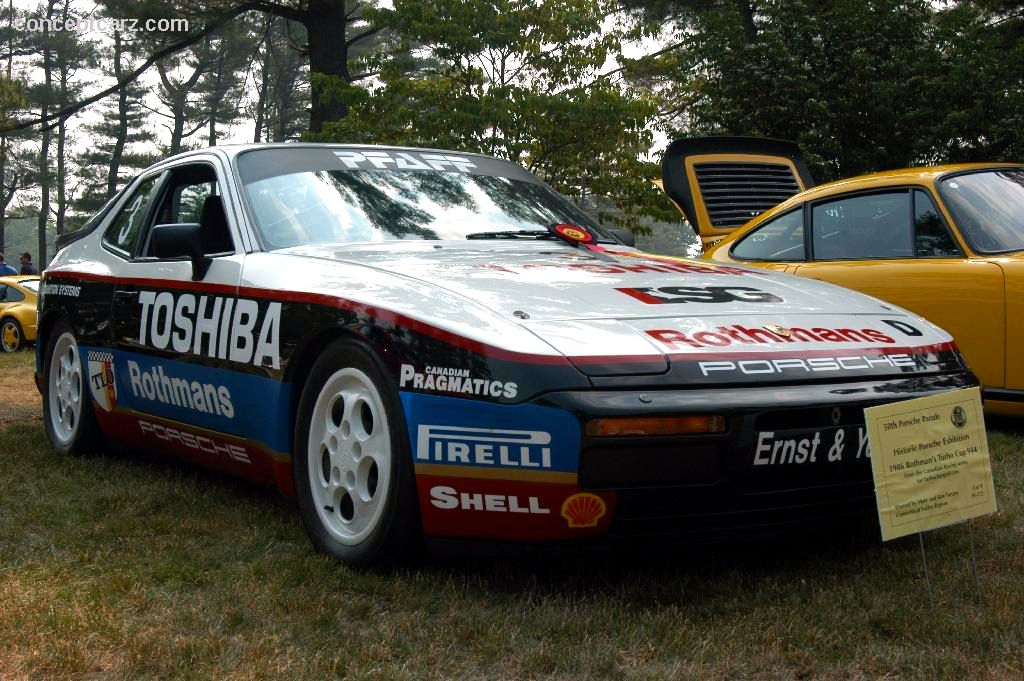 1986 porsche rothmans cup turbo 944 pictures history value research news. Black Bedroom Furniture Sets. Home Design Ideas