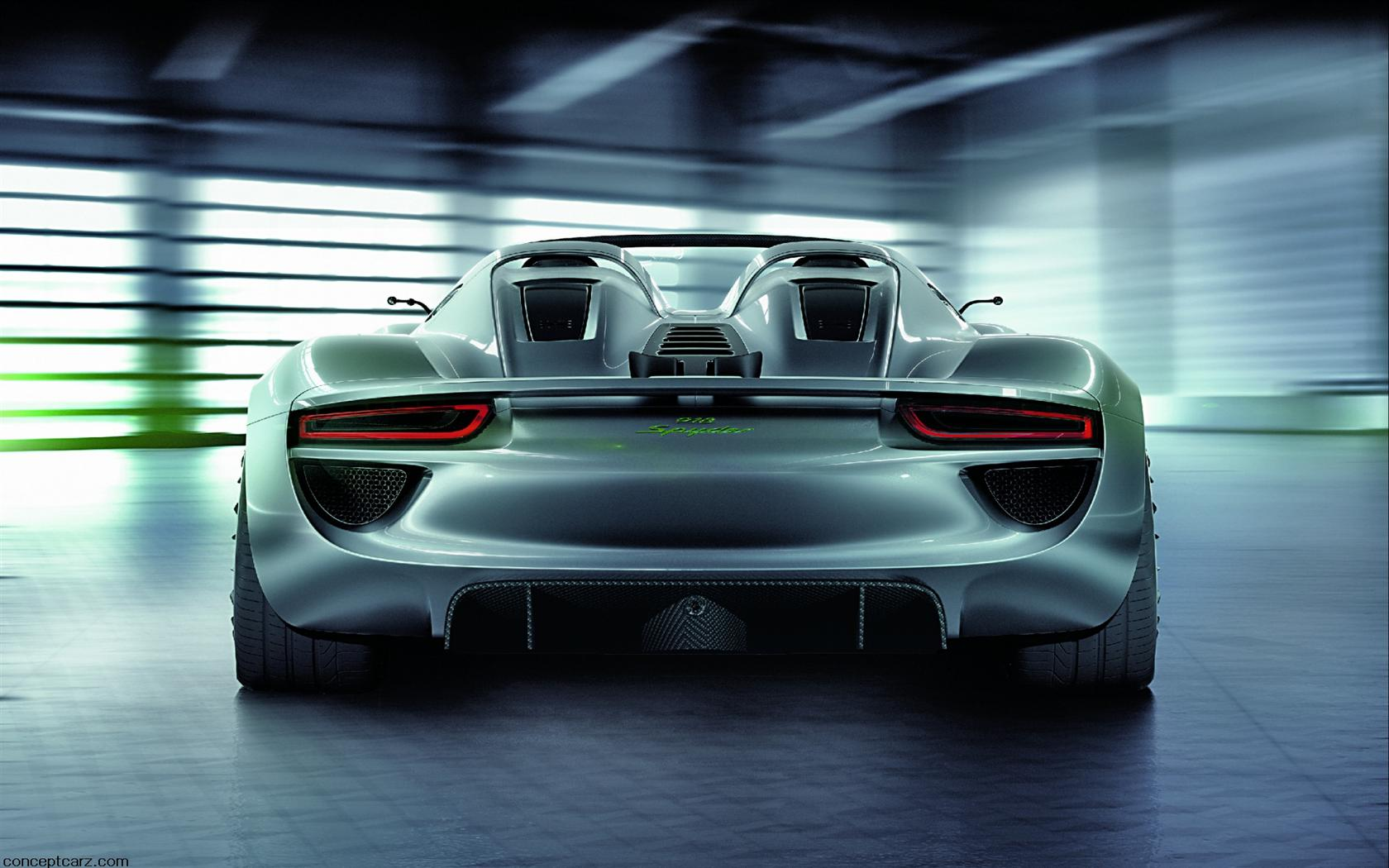 2010 porsche 918 spyder concept images photo porsche spyder hybrid 918 wallp. Black Bedroom Furniture Sets. Home Design Ideas