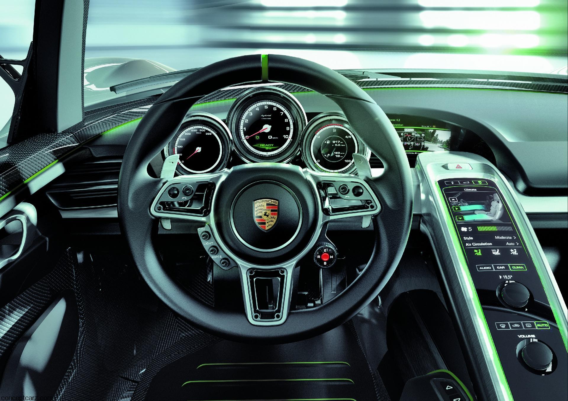 2010 porsche 918 spyder concept image - Porsche 918 Production Wallpaper