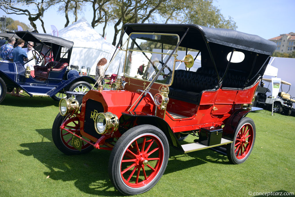Reo Car: 1909 REO Two Cylinder