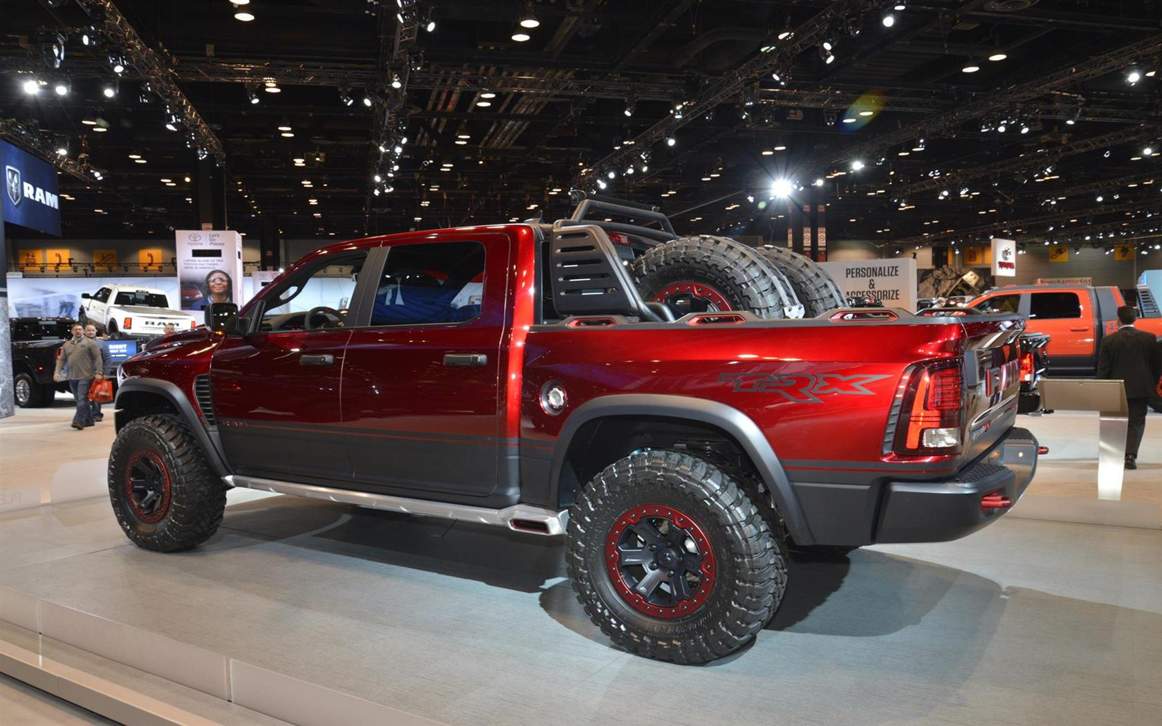 2016 ram rebel trx concept image. Black Bedroom Furniture Sets. Home Design Ideas