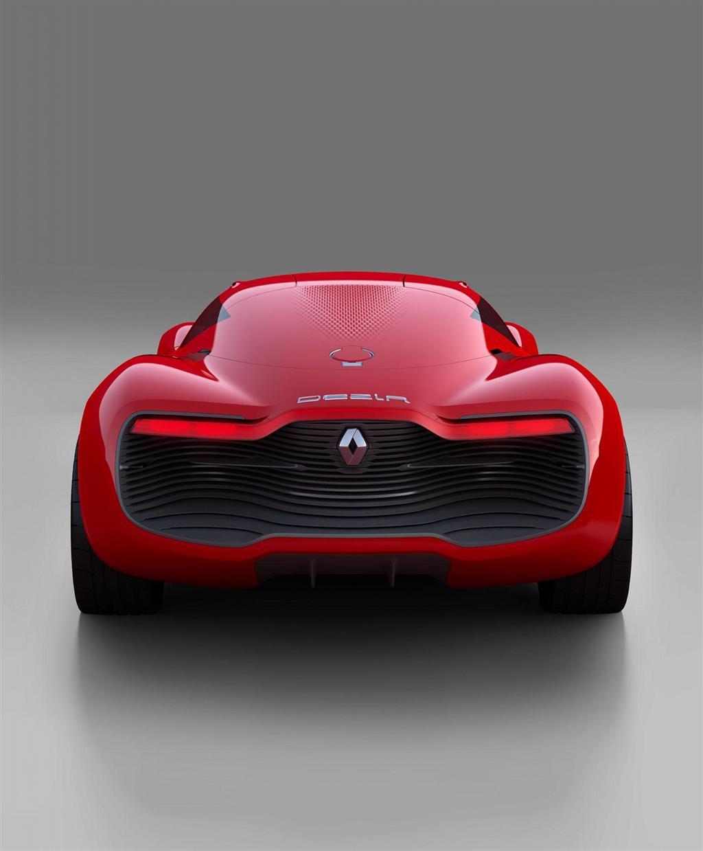 Renault Concept Car: 2010 Renault DeZir Concept