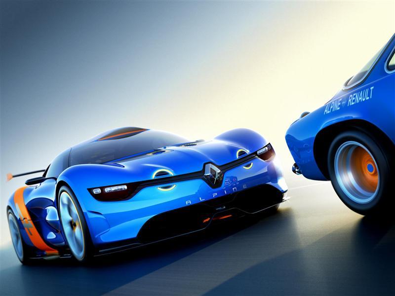 2012 Renault Alpine A110-50 Concept