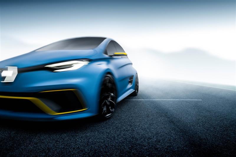 2017 Renault ZOE e-sport concept Image
