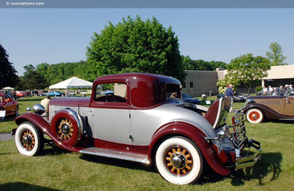 Reo Car: 1932 REO 8-35 Royale At The 19th Annual Concours D