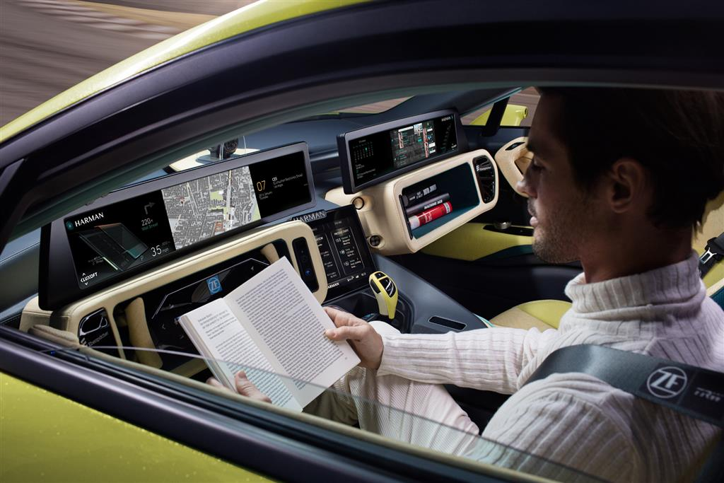 Rinspeed Etos based on BMW i Smart Key HD Wallpaper