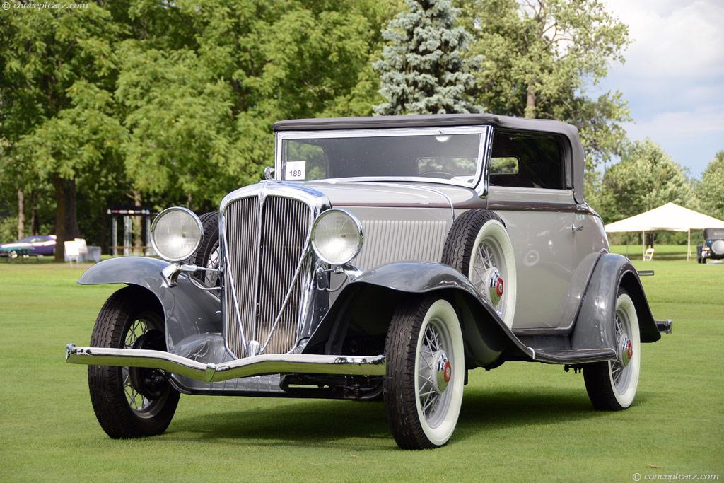 1932 Rockne Six Conceptcarz Com