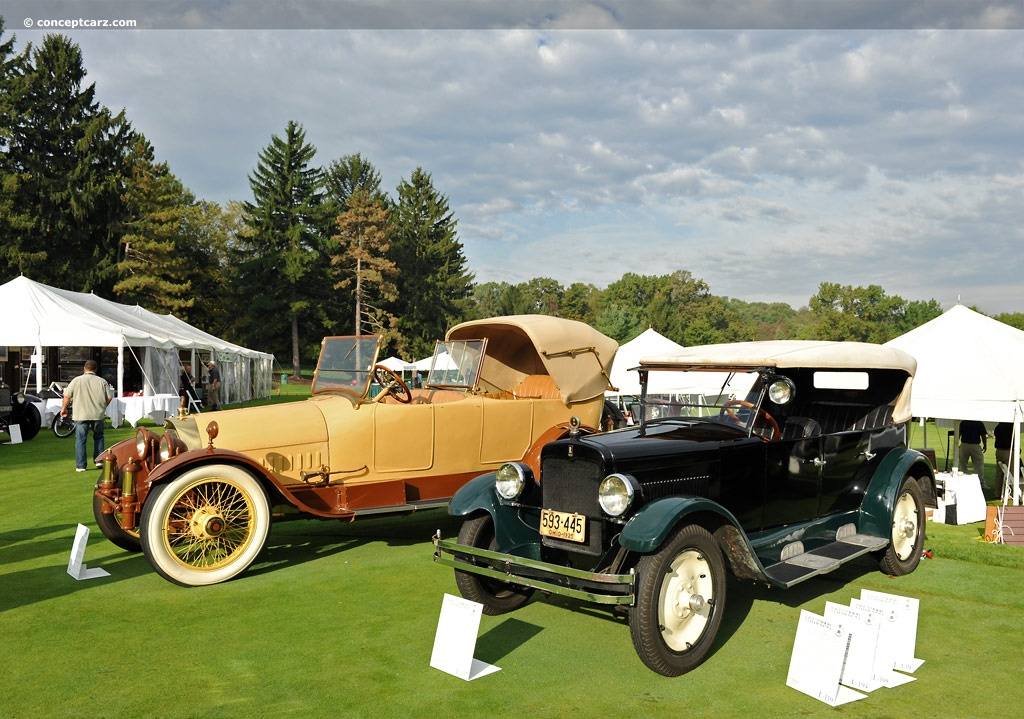 1925 Rollin Model G At The Glenmoor Gathering Of