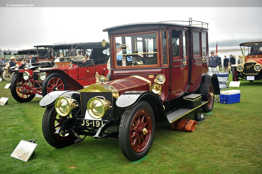 Auction results and data for 1910 Rolls-Royce Silver Ghost ...