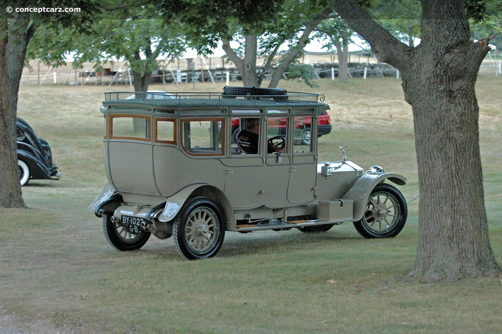 Rolls-Royce Silver Ghost Barker pictures and wallpaper