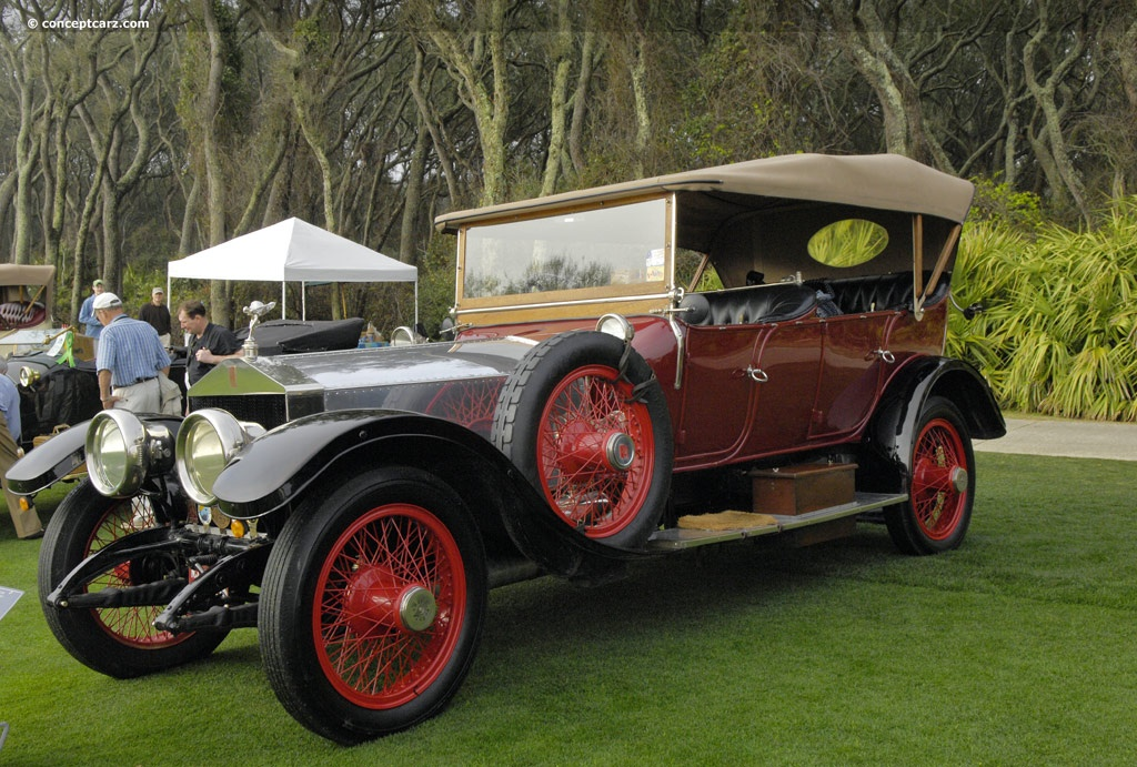 1913 rolls royce silver ghost at the amelia island. Black Bedroom Furniture Sets. Home Design Ideas