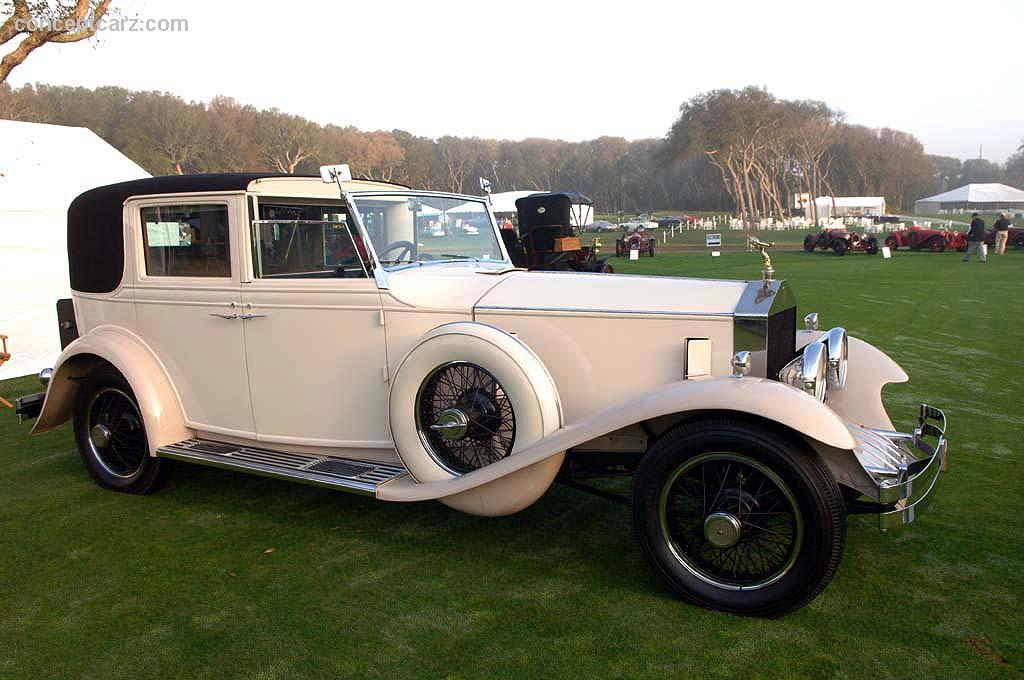 1920 Rolls-Royce Silver Ghost at the Amelia Island ...