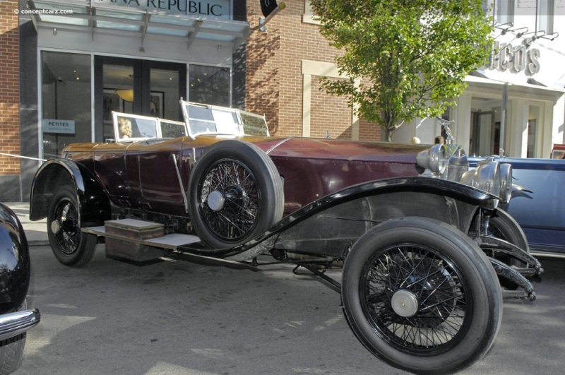 1923 rolls royce silver ghost at the pittsburgh vintage grand prix parade and shows. Black Bedroom Furniture Sets. Home Design Ideas