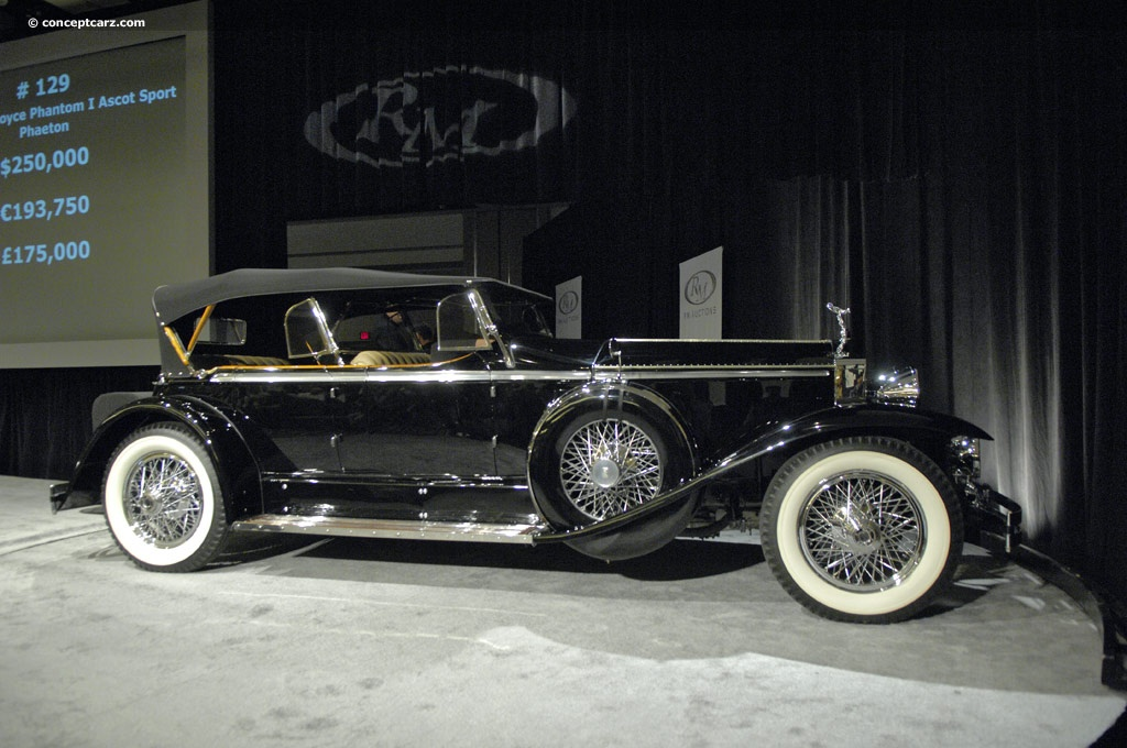 Auction Results And Data For 1929 Rolls Royce Phantom I