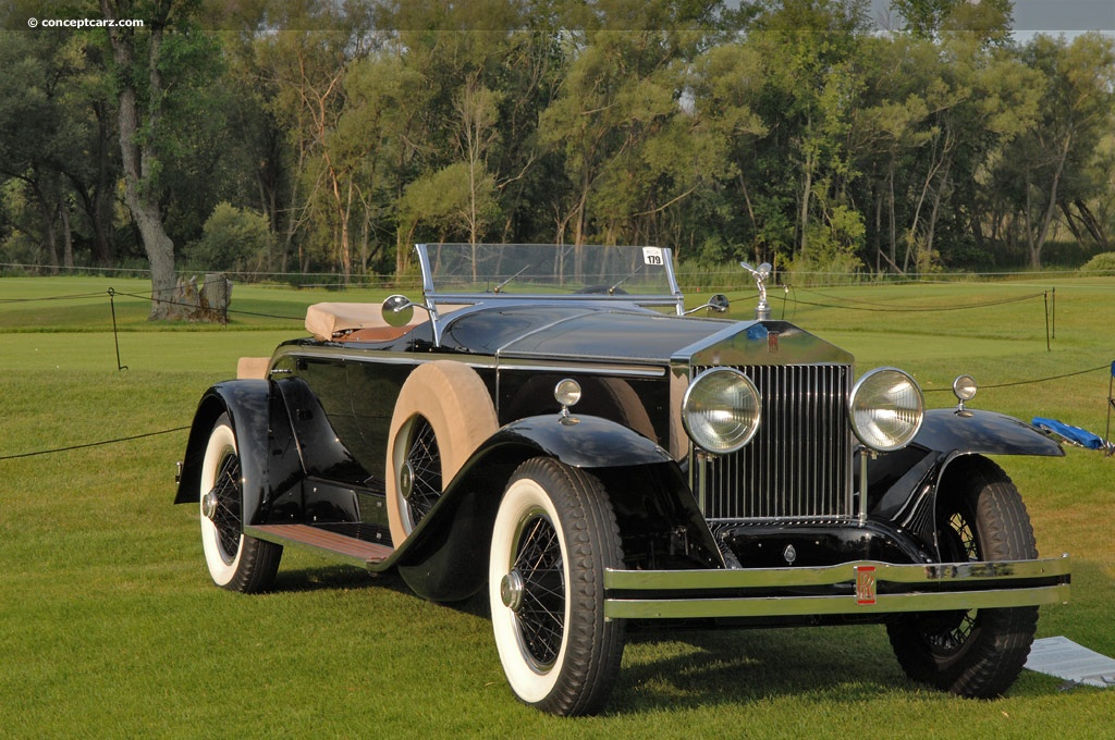 Auction results and data for 1929 RollsRoyce Phantom I