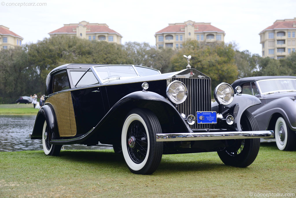 1930 Rolls-Royce Phantom II at the Amelia Island Concours ...