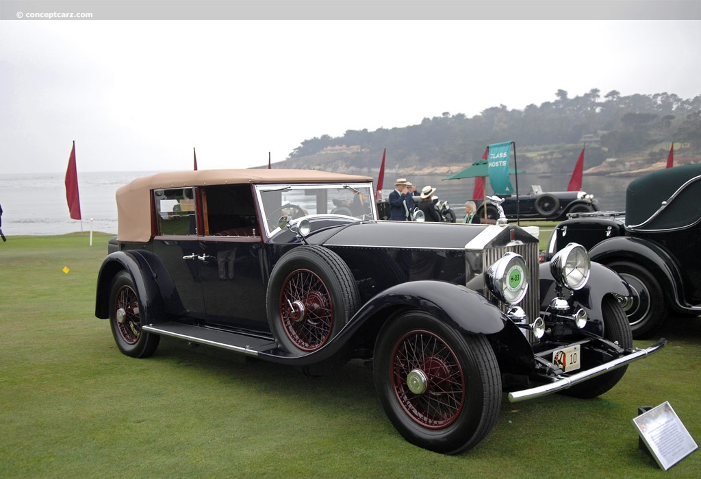 1930 rolls royce phantom ii p2 springfield 40 50hp conceptcarz. Black Bedroom Furniture Sets. Home Design Ideas